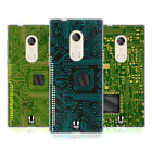 HEAD CASE DESIGNS CIRCUIT BOARDS SOFT GEL CASE FOR ALCATEL PHONES