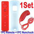 2Sets REMOTE CONTROLLER and NUNCHUCK FOR NINTENDO WII &amp; WII U + SILICONE + STRAP <br/> BUY 1 GET 1 AT 10% OFF,add 2 to basket✔Fast Shipping✔