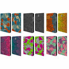 HEAD CASE VIVID SWIRLS LEATHER BOOK WALLET CASE COVER FOR SAMSUNG GALAXY TABLETS
