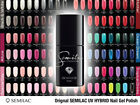 Semilac Soak off Gel Polish LedUV Hybrid Top ALL 220 COLOURS Manicure Nail Art
