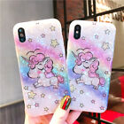 Bling Glitter Rainbow Unicorn Cute Case Protective Cover For iPhone Xs Max XR X <br/> Fit for iPhone Xs Max, XR, Xs, X, 6, 6S, 7, 8, Plus