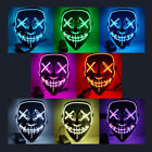 New Christmas Mask LED Light Up Party Mask The Purge Election Year Great Cosplay