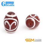 10x14mm Rice Zodiac 12 Constellation Red Agate Stone Beads for Jewelry Making