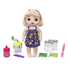 Baby Alive Sweet Spoonfuls Baby Doll Girl- Blonde Straight Hair Perfect For Kids