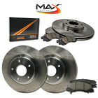 11 12 Fits Nissan Murano LE/S/SL/SV OE Replacement Rotors w/Ceramic Pads F+R