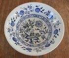 """Vintage Wood & Sons Blue Onion Coupe Cereal Bowl 6 1/2"""" China Dinnerware England"""