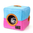Cat Cube Cave Nest For Small Pets Dog Cat Bed House Portable Indoor Play