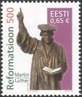 Estonia 2017 Martin Luther/Reformation/Bible/Statue/Religion/People 1v (n45988)