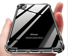 for iPhone e XR XS MAX XS Luxury Ultra Slim Shockproof Silicone Clear Case Cover