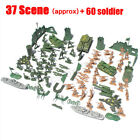 Military Soldier Model WW2 Scene Army Model Brick Tank Figure Collection DIY