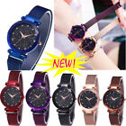 Luxury Starry Sky Watch Waterproof Magnet Strap Buckle Stainless Women's Gift US image