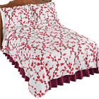 Allison Cherry Blossom Textured Quilt, by Collections Etc image