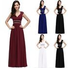 Evening Long Prom Dress Formal Party Ball Gown Bridesmaid A-line Mother Dresses