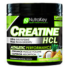 Nutrakey Micronized Creatine HCL Muscle Growth Endurance, 125 Servings 3 FLAVORS $26.95 USD on eBay