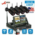 ANRAN Wireless Security Camera System 4CH WiFi 1080P NVR Home Outdoor With 1TB