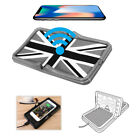 Qi Wireless Charger Car Dashboard Charging Stand Non-Slip Pad Mat for iPhone X 8