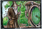 LOTR  - Lord of the Rings - GANDALF PSC SKETCH CARD - by JEREMY TREECE