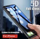 5D-NEW Curved Tempered Glass Screen Protector Guard For Phone XS Max XR XS