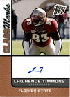 2007 Topps Draft Picks and Prospects Class Marks Auto #LT Lawrence Timmons Auto