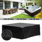 Hot Tub Cover Cap Anti-UV Electrical Insulation Protector + Spring Stoppers US
