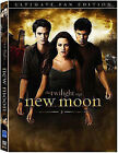 NEW THE TWILIGHT SAGE: NEW MOON DVD - 2 DISC SET - ULTIMATE FAN EDITION -STEWART