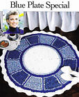 Crochet Pattern ~ BLUE PLATE SPECIAL RUG ~ Instructions