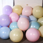 10/100pcs Latex Candy Pastel Balloons Home Wedding Party Birthday Decor 10inch