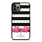 KATE SPADE FLORAL POLKADOTS #1 iPhone 5/5S/SE 6/6S 7 8 Plus X/XS Max XR Case