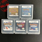 Pokemon HeartGold Soulsilver Platinum Diamond Pearl Game Card For 3DS XL NDS