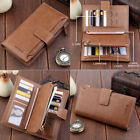 New Fashion Lady Women Leather Clutch Wallet Long Card Holder Case Purse Handbag image