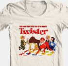 Twister T-shirt retro 1980's board game vintage toys graphic 100% cotton tee image