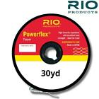RIO POWERFLEX TIPPET 30YDS COPOLYMER FLY FISHING LEADER MATERIAL TROUT FISHING