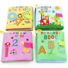 Baby Cloth Soft Book Toys Educational Books Toy Rustle Sound Early Learning