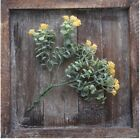 A84 Yellow Camellia Artificial Flower Living Room Home Decoration 2 Pce A