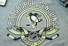 Pittsburgh Peguins Youth Gray Unisex T shirt  Washed Tags