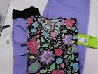 Medical Scrub Set Cherokee Pant 2074 & Med Couture Top 8413 New