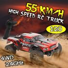 1:20 2.4G 55KM/H Electric RC Car 4WD Radio Remote Control Off Road Vehicle