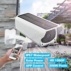 Внешний вид - Waterproof Solar Security Camera 1080P 2MP IP Wireless WIFI Camera Night