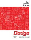 1967 Dodge Dart, Coronet, Charger Factory Service Manual $73.63 CAD on eBay