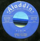 Bobby Mitchell & The Toppers-4-11=44/One Friday Morning-Rare R&B RE 45-N.Mint
