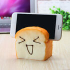 Jumbo Squishy 7 Seconds Slow Raising Slice Toast Joy Happy Faces Mobile Phone Se