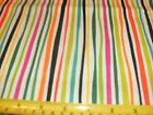 1/2 Yd Andover Quilt Fabric Wavy Stripes Stripe Red Lime Green Yellow Black