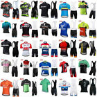 2019 men cycling Jersey bicycle team short sleeve bike shirt bib shorts suit K08