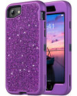 ULAK Sparkly Glitter Case for iPhone 8,iPhone 7,Phone 6/6S Shockproof Soft Cover