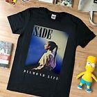 NEW-rare-VTG-Sade-Diamond-Life-top-USA-reprint T Shirt Black new S-234XL Z682 image