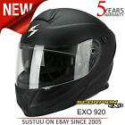 Scorpion Exo 920 Flip Front Motorcycle/Bike Helmet│ECE 22-05│Matt Black│All Size
