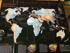 Earthquake Risk A global View National Geographic 2006 Insert Map E69