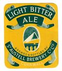 Beer Label: St Austell Brewery Co., Light Bitter Ale 82mm tall