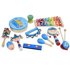Percussion Set Musical Instruments Rhythm Kit Musical Toys for Children Toddlers