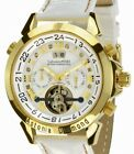 "Calvaneo 1583 DAS Flaggschiff ""Astonia Diamond Gold Snow"" Automatik Herren Uhr"